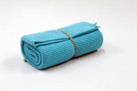 Knitted towel Solwang Design, turquoise