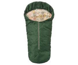 Sleeping bag green