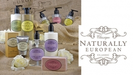 Lavender Vegan body lotion, Naturally European