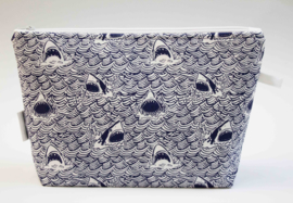 'Sharks' wash bag