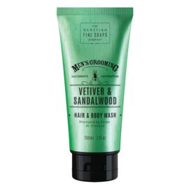 Hair and Body wash, Vetiver & Sandalwood