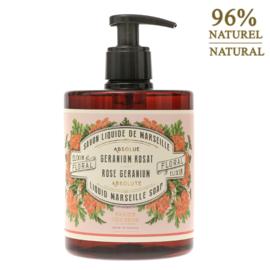 Rose Geranium, liquid soap