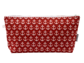 Toiletry bag 'Red Anchor'