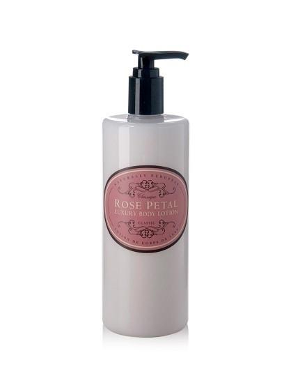 Rose Petal Vegan body lotion, Naturally European