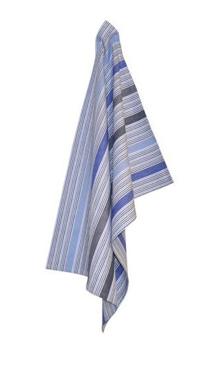 Organic tea towel blue, Solwang Design