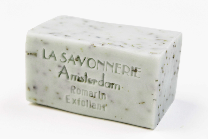 Rosemary, exfoliating soap