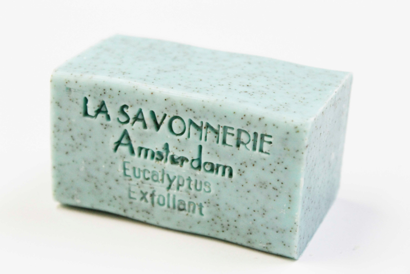 Eucalyptus exfoliating soap