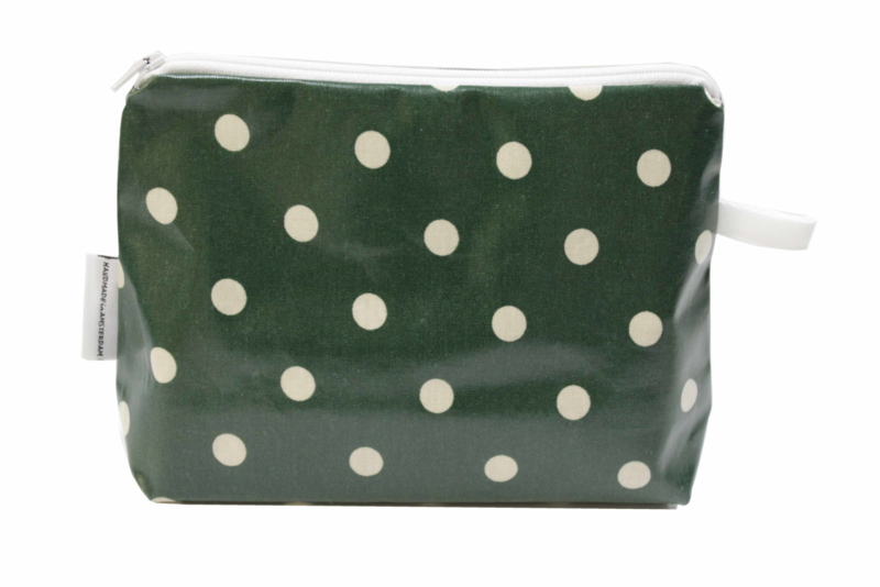 'Green Dot' make up bag