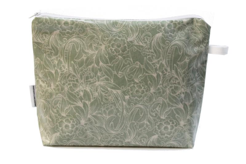 ' Renaissance' green, wash bag