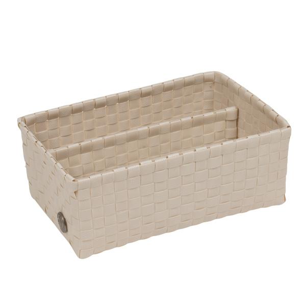 Bari pale grey basket