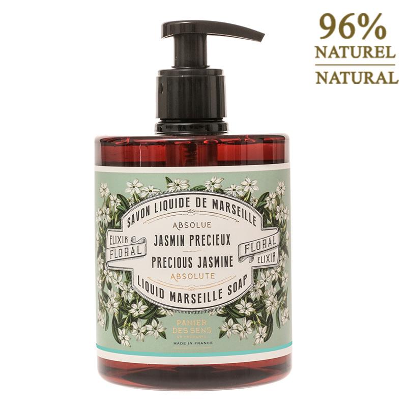 Jasmine liquid soap, Panier des Sens