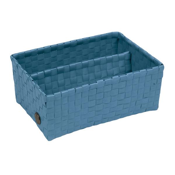 Bari stone blue basket
