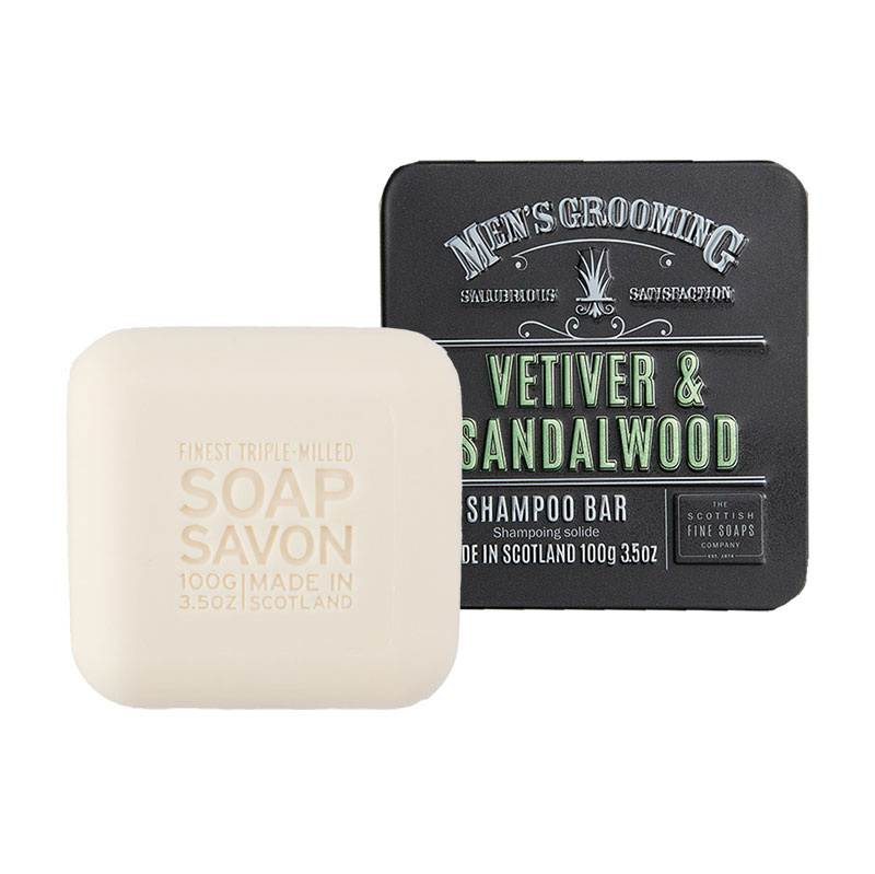 Shampoo bar, Vetiver & Sandalwood