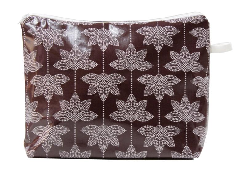 'Lotus' grape wash bag NILSEN