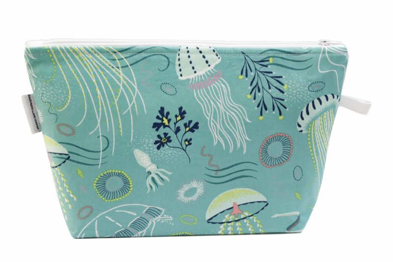 'Jelly Fish' wash bag