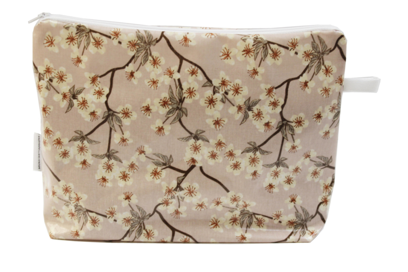 'Blossom' light pink wash bag