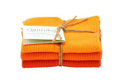Wash cloth Solwang Design, orange