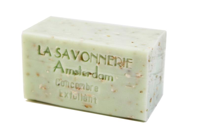 Cucumber, exfoliating soap