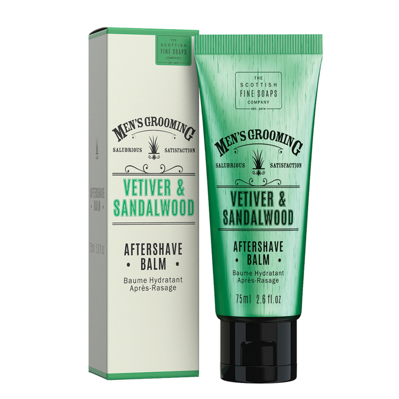 Vetiver & Sandalwood after shave balm