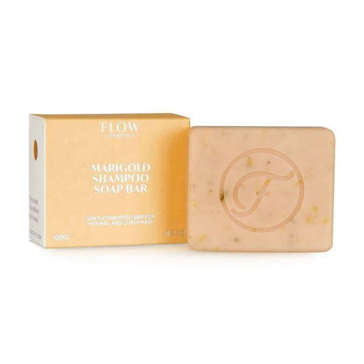 Marigold shampoo bar