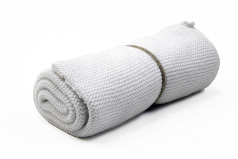 Knitted towel Solwang Design, white