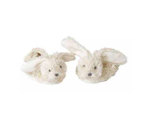White Rabbit baby slippers