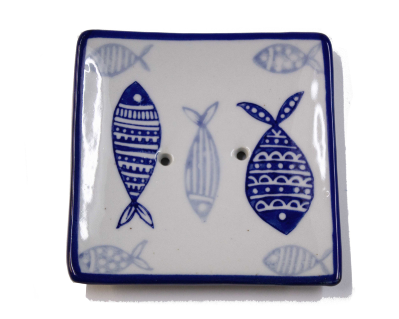 Fish soapdish