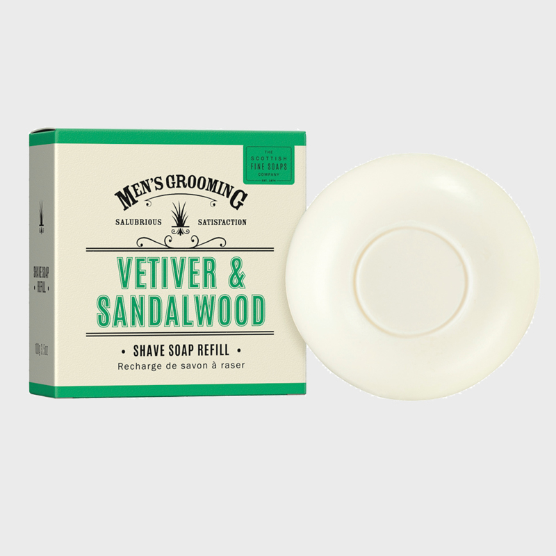Refill shaving soap Vetiver& Sandalwood