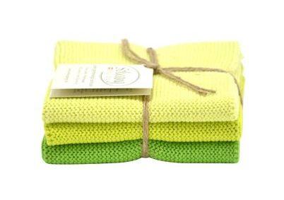 Wash cloth Solwang Design, lime