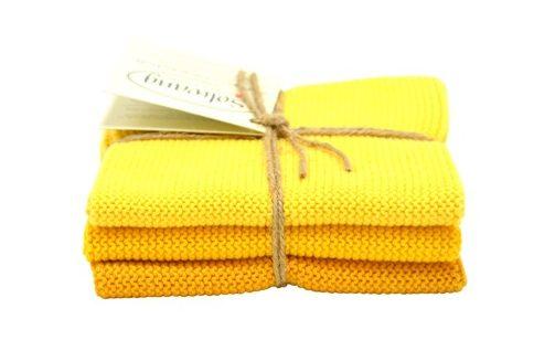 Wash cloth Solwang Design, yellow