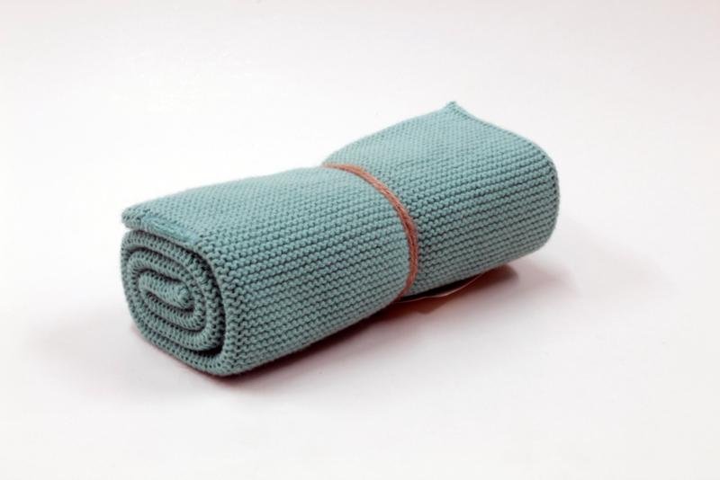Petrol, knittel towel solwang