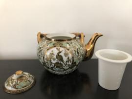 Saji Japanse theeset, theepot met 6 kop en schotels