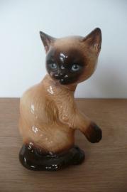 Goebel porseleinen beeld Siamese kat / poes nr 31 038 14