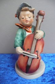 Originele Hummel 186/I Zum Tanz, Bassgeiger / Sweet Music 13 cm TMK-5 (1972-1979)