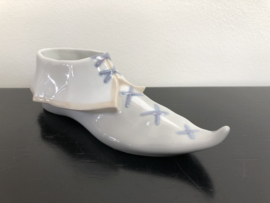Lladro porselein: PRE PRODUCTION / PROTOTYPE(!) Shoe With Laces/ Bota Arlequin uit beginperiode van Lladro