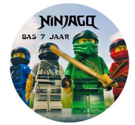 eetbare print, ninjago 20 cm