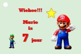 traktatiekaartje Mario, per 10 stuks