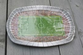 voetbal borden, per 8 stuks
