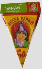 vlaggenlijn, sarah