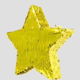 pinata ster, goud