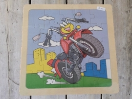"""houten puzzel """"motor"""""""