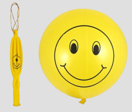 smiley bounce ballon