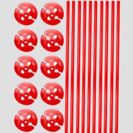 ballonstokjes, 10 stuks