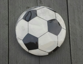 voetbal servetten, per 20 stuks