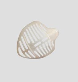 siliconen kapje voor onder je mondkapje
