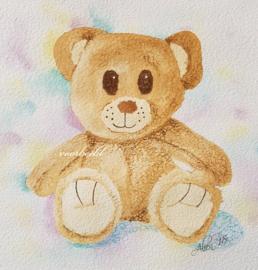 wenskaart teddybeer