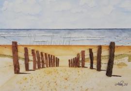 wenskaart strand