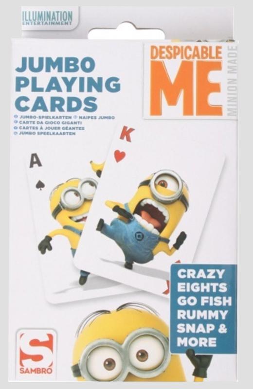 speelkaarten XL, minions