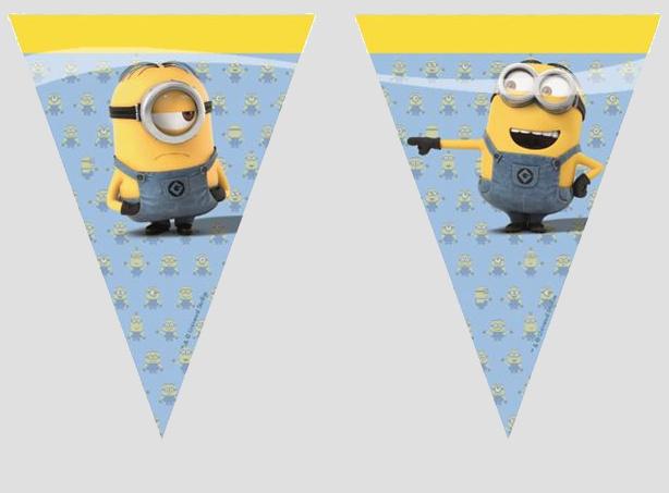 minions vlaggenlijn