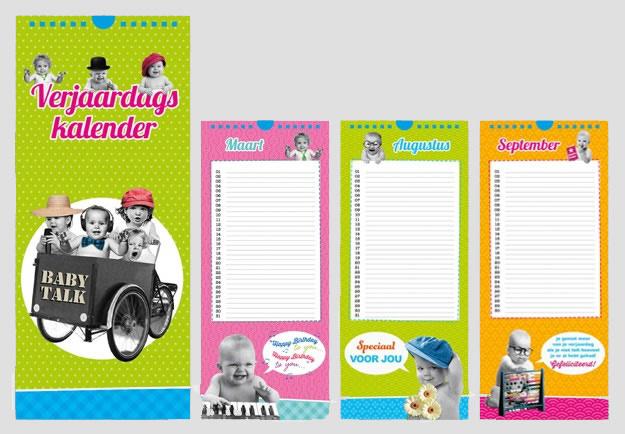 verjaardagskalender Babytalk